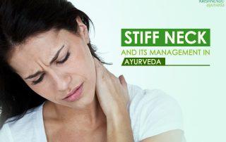 Stiff neck & its management in Ayurveda