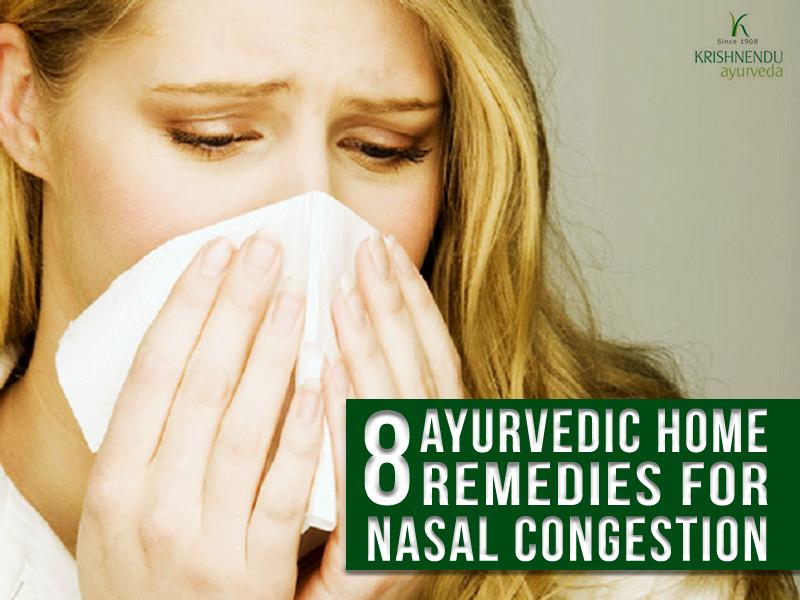 8 Ayurvedic remedies for nasal congestion
