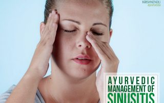 Ayurvedic management of Sinusitis