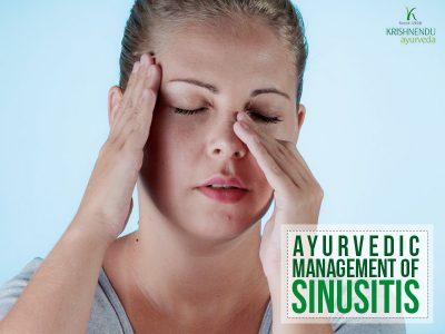 Ayurvedic management of Sinusitis
