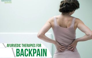 Ayurvedic therapies for back pain