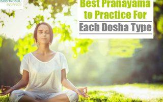 Best Pranayama to Practice For Each Dosha