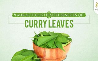 Ayurveda Benefits Curry Leaves